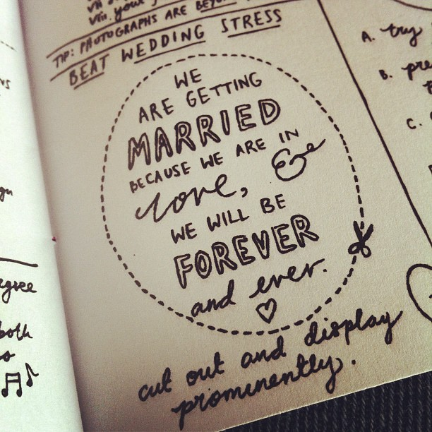Wedding Planning for Terrific Humans, by the amazing @veronicadearly