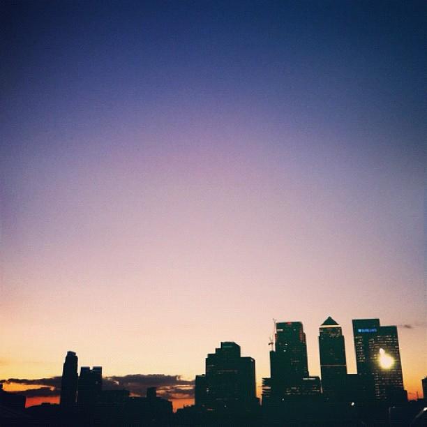 North Greenwich sunset #vscocam #finalshowdown