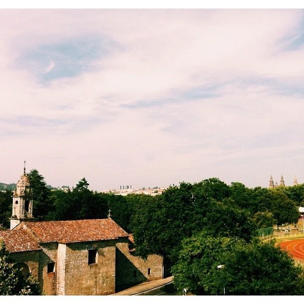 My bedroom window view, Santiago de Compostela #vscocam