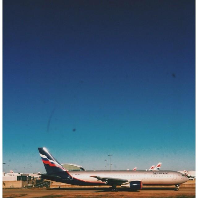 Аэрофлот в Лондоне #vscocam