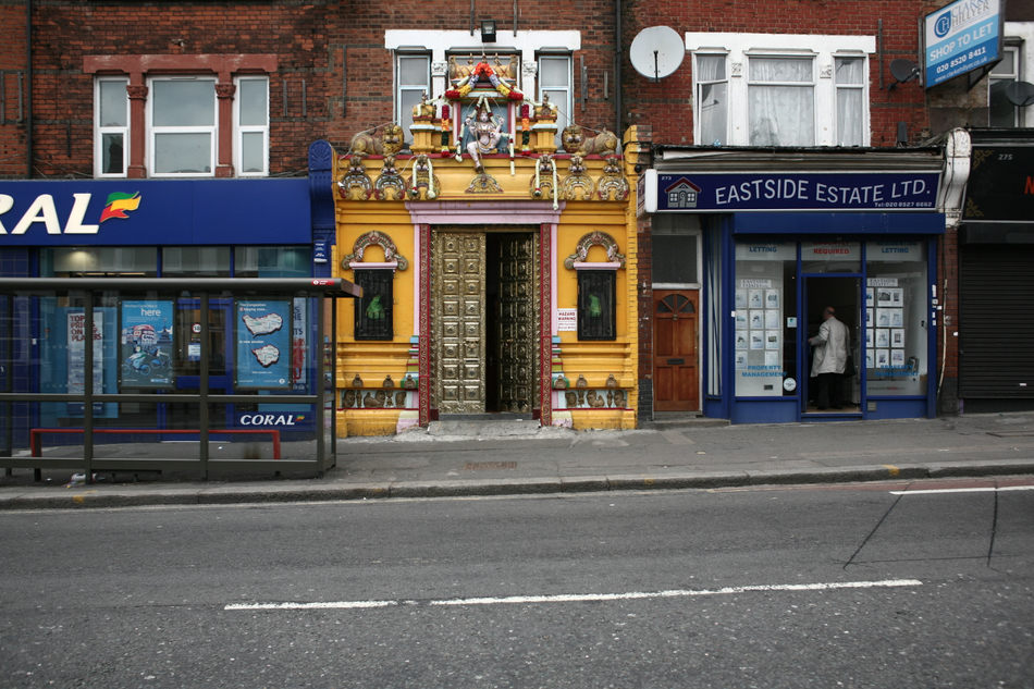hindu temple, walthamstow, london