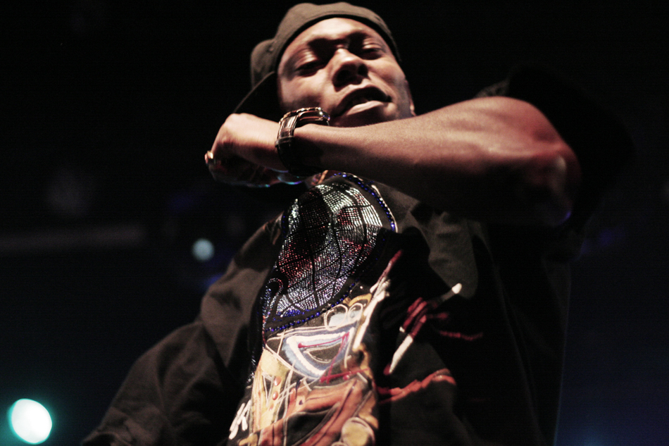 Dizzee Rascal at El Rey, Hollywood