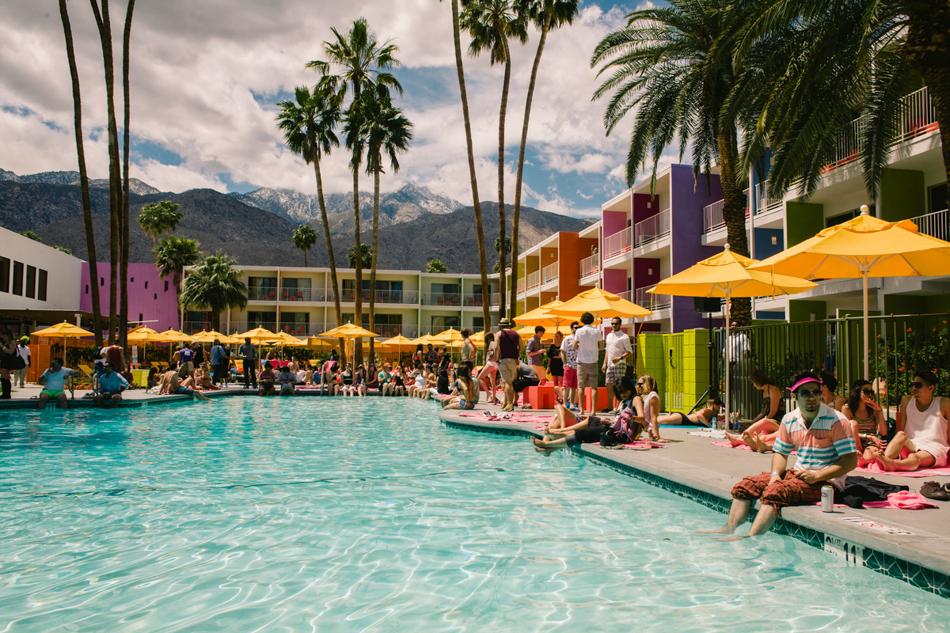 spring in palm springs: coachella weekend