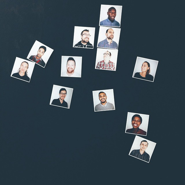 People I shot, magnetised #vscocam