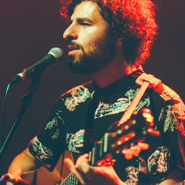 José González at the Shepherd's Bush Empire last night. On @brooklynvegan soon.