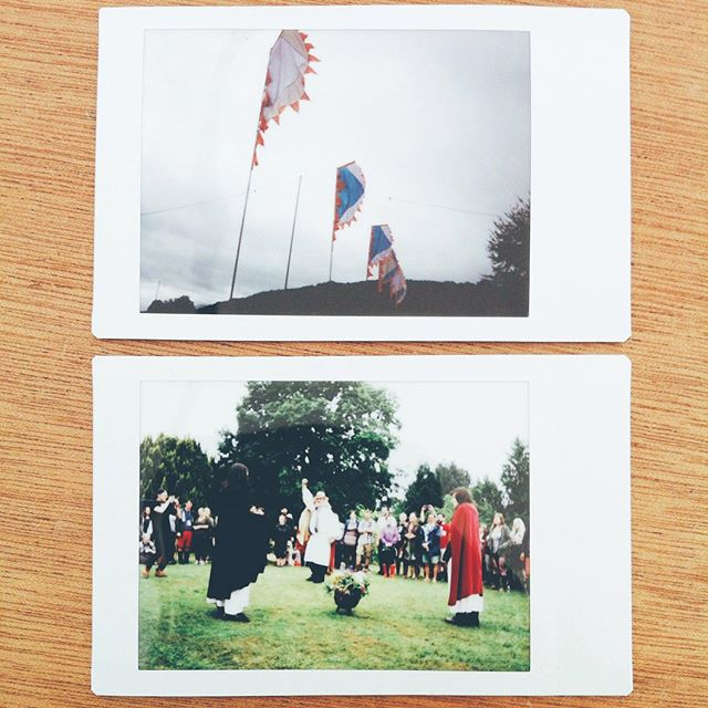 Druids, innit.#wales #instax #vscocam