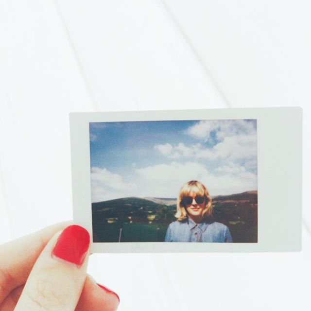The last seventeen hours have seen more rain than I've ever known before. But before that, @greenmanfest looked like this. (Massive thanks to the very excellent @gwennosaunders.) #wales #sunshine #instax #vscocam