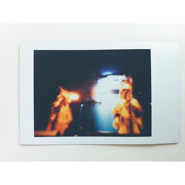 Goat at @greenmanfest. Also, WHO'S GOING TO END OF THE ROAD?#goat #instax #festival #vscocam