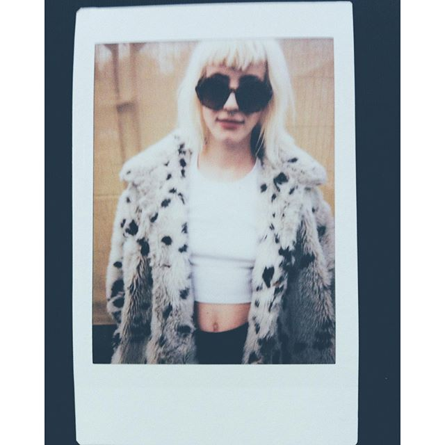 @du.blonde at #eotr#makeportraits #vscocam #instax