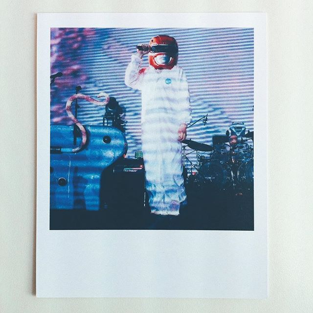 Tonight I'm shooting @therealylt and @gruffingtonpost. I somehow haven't shot YLT before but here is a picture of a picture of GR.#vscocam #concertphotography #brixton